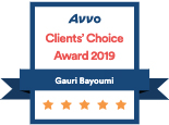 Avvo Clients Choice Gauri 2019