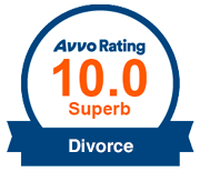 Avvo Rating 10.0 Superb Divorce