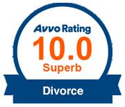 Avvo Rating 10.0 Superb Divorce