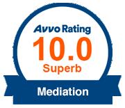 Avvo Rating 10.0 Superb Mediation