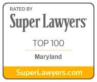 Super Lawyers Top 100 Woman Marylan