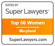 Super Lawyers Top 50 Woman Maryland